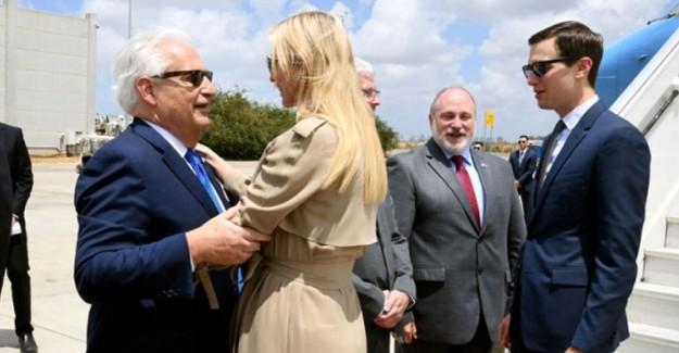 ABD Büyükelçiliğini Kudüs'e Yarın Taşıyor! Trump'ın Kızı ve Damadı Orada Olacak