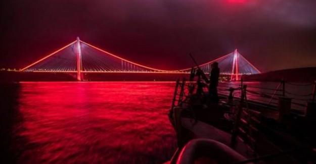 ABD Donanması'ndan Skandal Yavuz Sultan Selim Köprüsü Paylaşımı