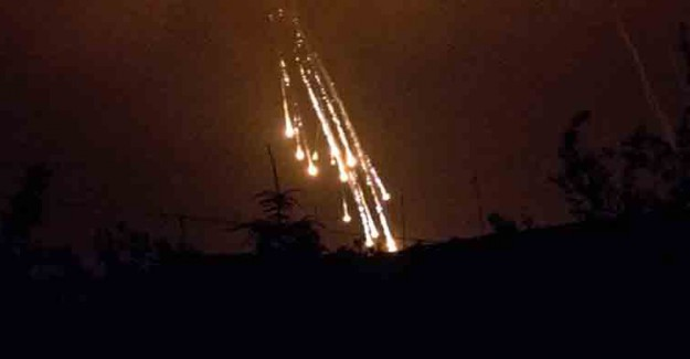 ABD Fırat'ın Doğusunu Bombalıyor!