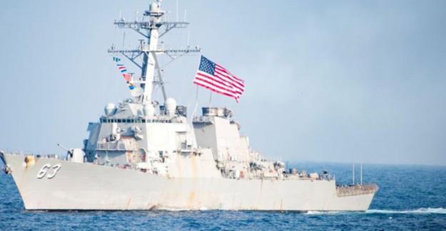 ABD Ordusu Tayvan Boğazı'ndan İki Donanma Gemisi Geçirdi