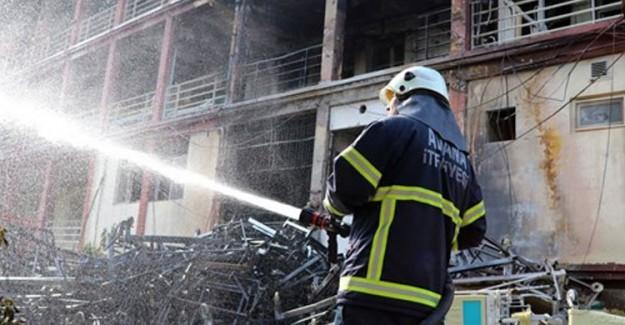 Adana'da Hastane'de Yangın Paniği