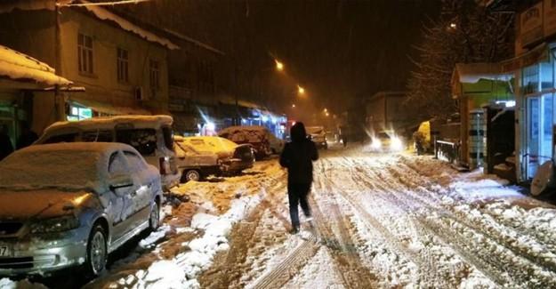 Adıyaman'da 94 Köye Kar Nedeniyle Ulaşım Engeli!