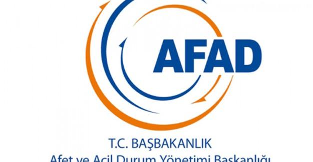 AFAD, Sosyal Medyadan Uyardı