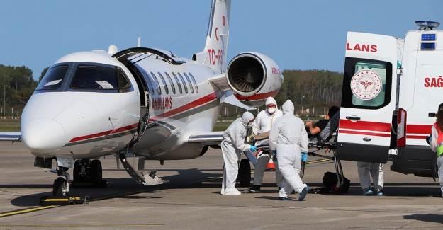 Afganistanlı Doktor Ambulans Uçakla Türkiye'ye Getirildi