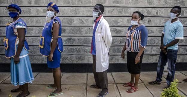 Afrika'da 41 Bin Sağlık Çalışanı Koronavirüse Yakalandı