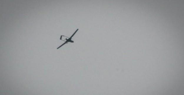 Afrin'de SİHA'lar Keşif Uçuşunda