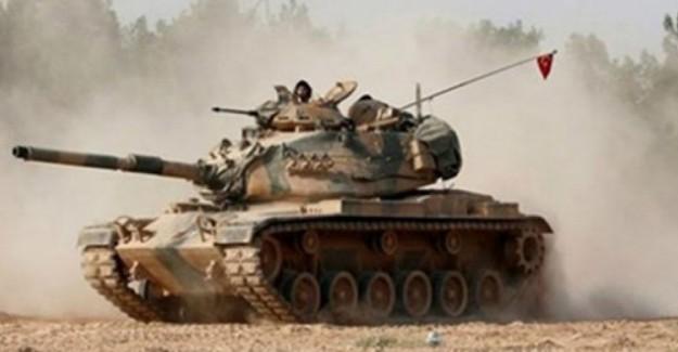 Afrin'den Acı Haber! Alçak Teröristler Tankı Hedef Aldı Bir Askerimiz Şehit Oldu