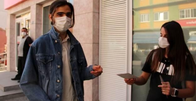 Afyon'da Maskeyi Doğru Takanlara Para Ödülü