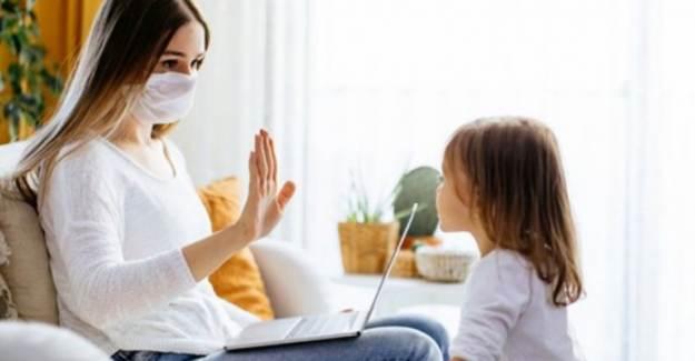 Aile İçinde Sosyal Mesafeye Dikkat Edin