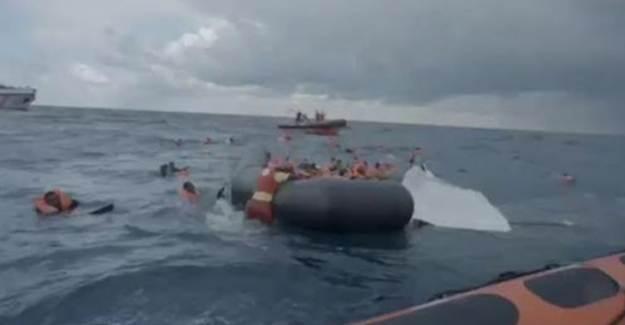 Akdeniz'de Batan Gemide Bebeğini Arayan Annenin Feryadı Yürekleri Dağladı!