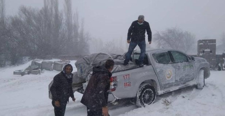 Aksaray'da Mahsur Kalan 117 Vatandaş Kurtarıldı