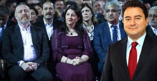 Ali Babacan'dan HDP'ye Destek
