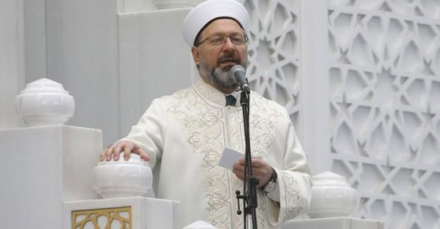 Ali Erbaş Hakkındaki Suç Duyurusuna 'Soruşturmaya Yer Olmadığı' Kararı
