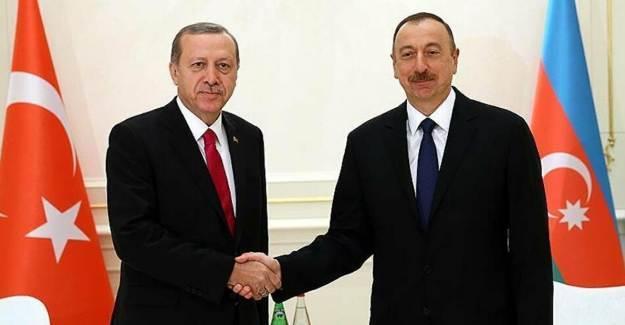 Aliyev'den Cumhurbaşkanı Erdoğan'a 29 Ekim Mesajı