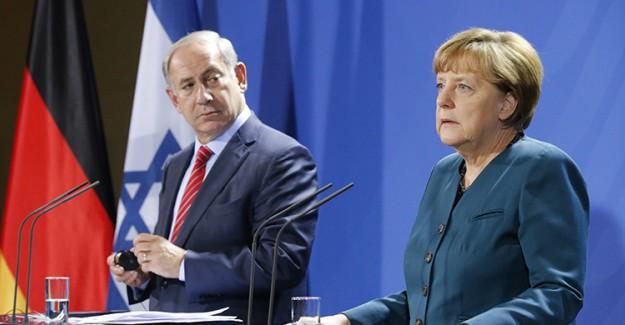Almanya İsrail'e Sert Çıktı!