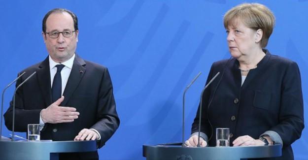 Almanya ve Fransa'dan ABD'ye Destek