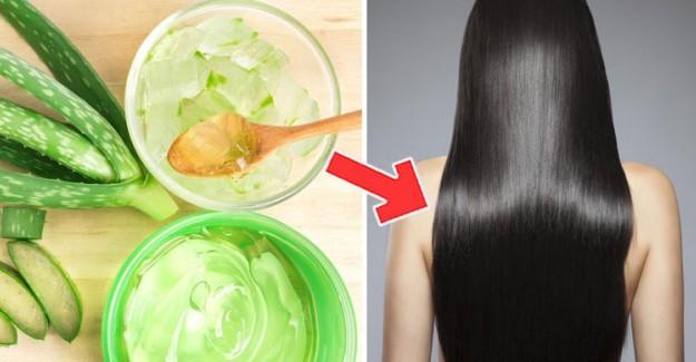 Aloe Vera Jeli Saç İçin Nasıl Kullanılır?