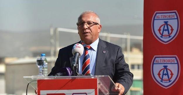Altınordu Başkanı Seyit Mehmet Özkan'dan Flaş Karar!