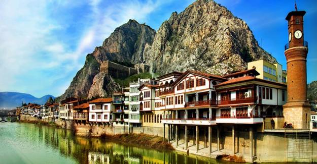 Amasya'da Yeni Turizm Rotası Yenilenen Osmanlı Konakları