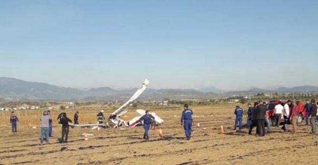 Antalya'da Uçak Düştü! Ölüler Var