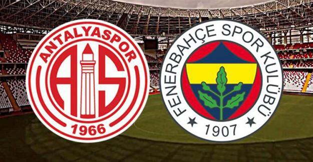Antalyaspor - Fenerbahçe : 0-0