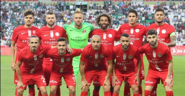 Antalyaspor'da 3 Oyuncu Ankaragücü Karşılaşmasında Yok