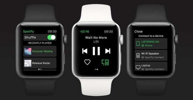 Apple Watch Kullanıcıları İçin Spotify Özelliği
