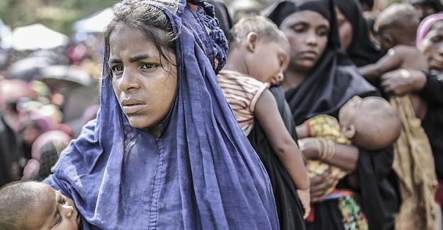 Arakanlıların Kamplarında Coronavirüs Endişesi