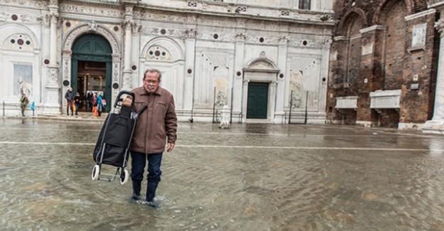 Aşıklar Şehri Venedik'te Sel Felaketi!