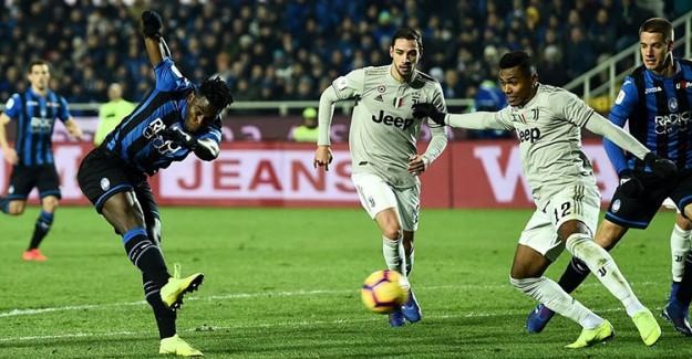 Atalanta Evinde Juventus'u Dağıttı, Kupada Yarı Finale Çıktı!