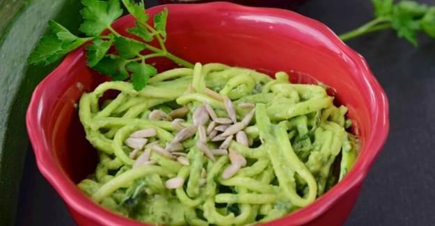 Avokadolu Kabak Spagetti Nasıl Yapılır?