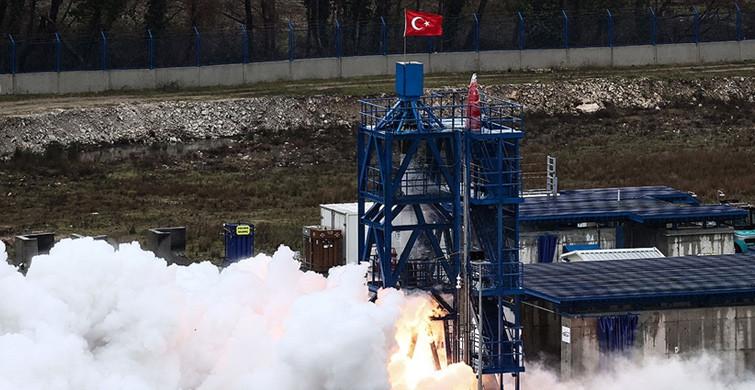 'Ay'a Sert İniş' Görevinde Kullanılacak Hibrit Roket Motorunun Testi Başarıyla Sonuçlandı