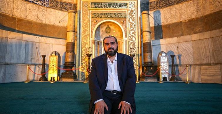 Ayasofya'nın Baş İmamı Mehmet Boynukalın Görevinden Ayrıldı