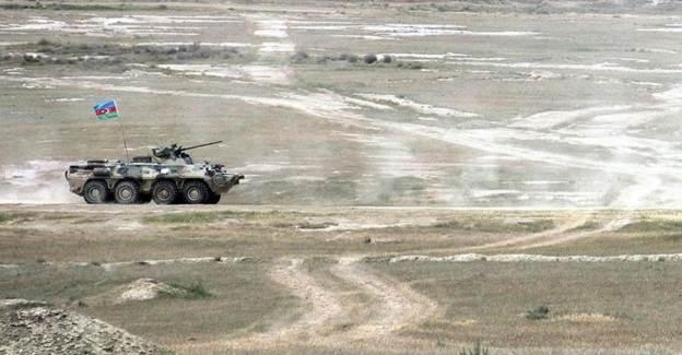 Azerbaycan Askeri Azerbaycan-Ermenistan Sınırında Şehit Oldu