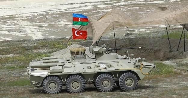 Azerbaycan ve Türkiye'den Ermenistan'a Karşı Ortak Askeri Tatbikat