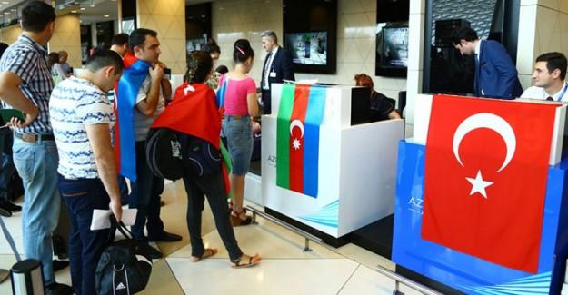 Azerbaycan'dan Türkiye'ye Yaklaşık 1 Milyon Turist Geldi