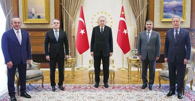 Azeri Bakanlar Ankara'da