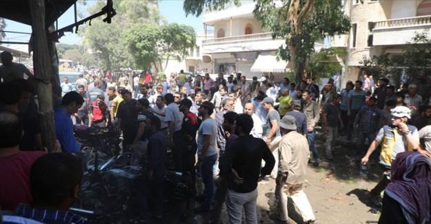 Azez'de İkinci Bombalı Saldırı: 5 Yaralı