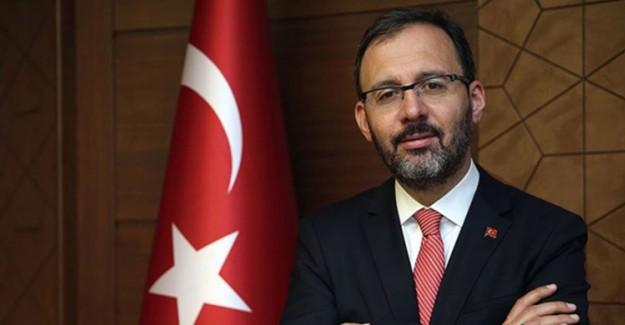 Bakan Kasapoğlu'ndan EYOF'ta Madalya Kazanan Sporculara Tebrik Mesajı