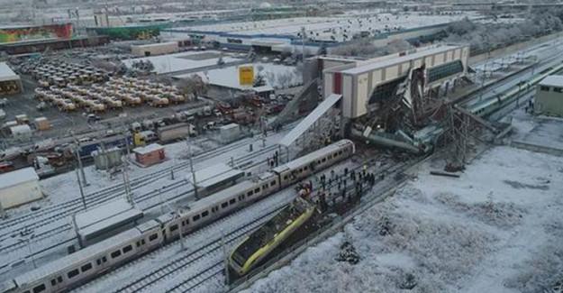 Bakan Turhan'dan Ankara Tren Kazası Hakkında Açıklama