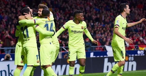 Barcelona, Levante Deplasmanında Şov Yaptı!