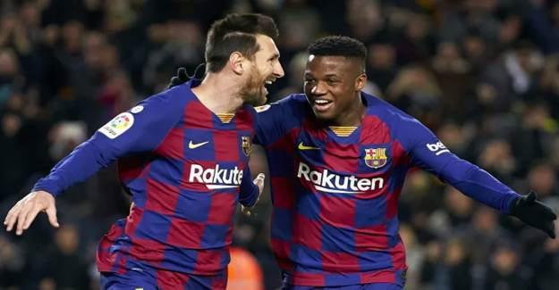 Barcelonalı Oyuncuya Irkçılık Yapıldı