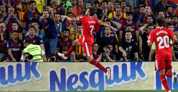 Barcelona'ya Camp Nou'da Girona Engeli!