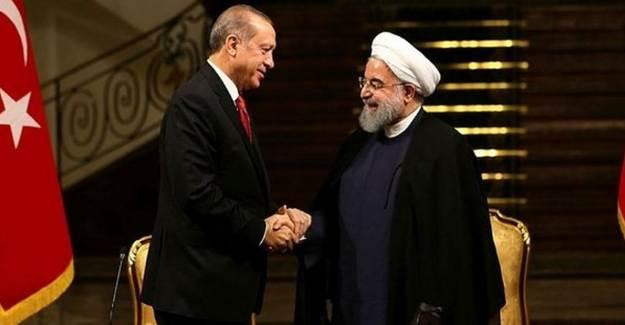 Başkan Erdoğan, Hasan Ruhani İle Görüştü