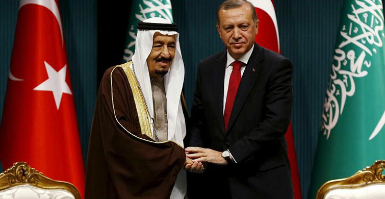Başkan Erdoğan Kral Selman'la Telefonda Görüştü