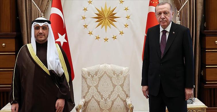 Başkan Erdoğan, Kuveyt Dışişleri Bakanı İle Görüştü