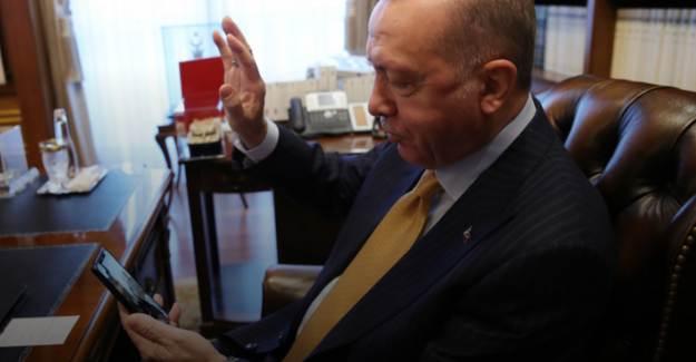 Başkan Erdoğan'dan 120 Yaşındaki Nineye Geçmiş Olsun Telefonu