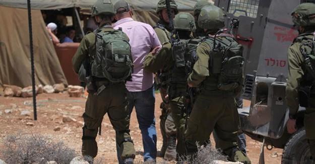 Batı Şeria'da İsrail Tutuklamaları Devam Ediyor