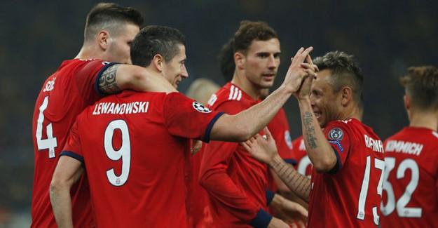 Bayern Münih İkinci Yarıda Güldü!