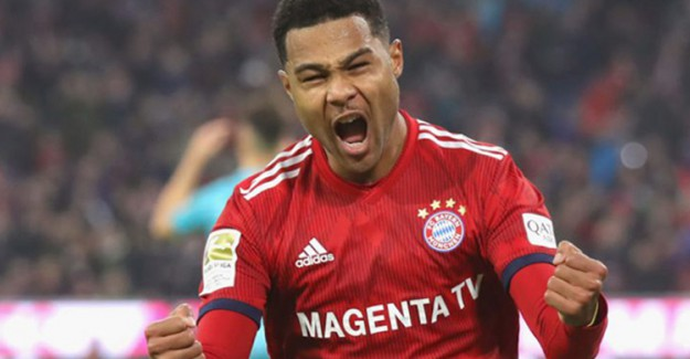 Bayern Münih Serge Ganabry'nin Sözleşmesini Uzattı